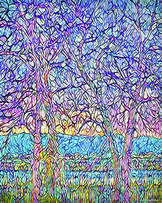 Digital Art - Breath Of Spring - Colorado Sunrise by Joel Bruce Wallach