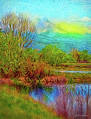 Digital Art - Breath Of Sunrise by Joel Bruce Wallach