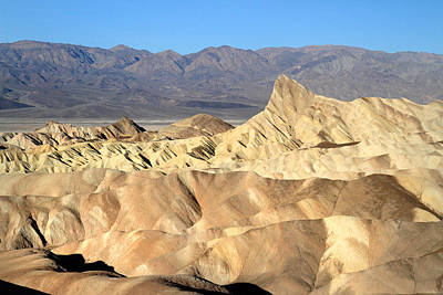 Photograph - Breath Taking Landscape Of Zabriskie Point by Pierre Leclerc Photography