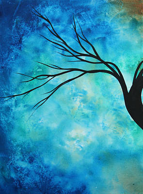 Rust Painting - Breathless 1 By Madart by Megan Duncanson