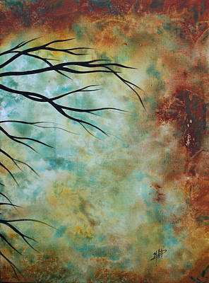 Rust Painting - Breathless 3 By Madart by Megan Duncanson