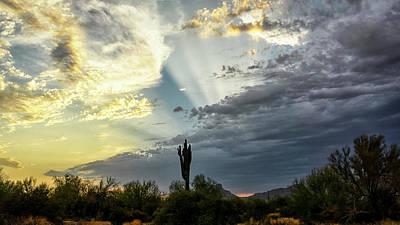 Photograph - Breathtaking Desert Skies  by Saija Lehtonen