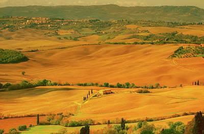 Photograph - Breathtaking Italian Landscape by Tolga Kilinc