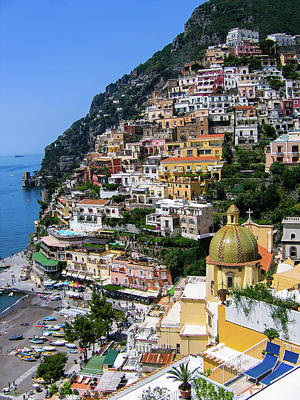 Transportation Royalty-Free and Rights-Managed Images - Breathtaking panorama in Positano by Nicola Simeoni