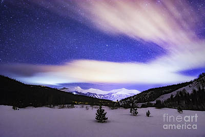 Photograph - Breckenridge Blues  by Bitter Buffalo Photography
