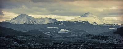 Photograph - Breckenridge Colorado Cool Blue by Dan Sproul