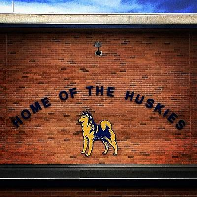 Photograph - Breckenridge High School, Home Of The Huskies by Chris Brown