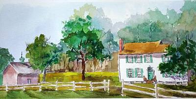 Painting - Brecknock Park by Larry Hamilton