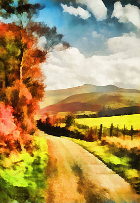 Painting - Brecon Beacons by Valerie Anne Kelly