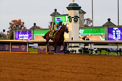 Breeder's Cup 3 Print by Lone Dakota Photography