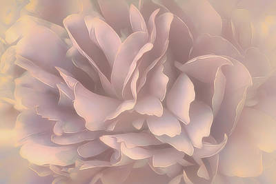 Breeze In Pastel Pearl Art Print by Darlene Kwiatkowski