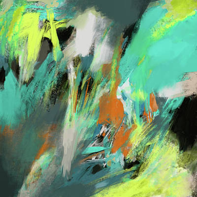 Digital Art - Breeze In The Willows by Ken Law