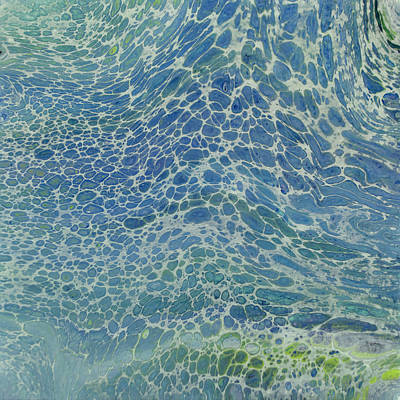 Painting - Breeze On Ocean Waves by Joanne Grant