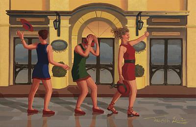 Breeze Through Monaco Original by Justin Lewis