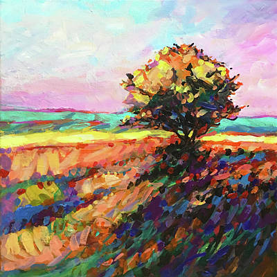 Wall Art - Painting - Breezes Along A Country Road by Charles Wallis