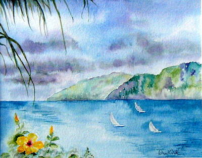 Painting - Breezy Afternoon by Diane Kirk