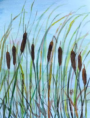 Breezy Cattails Original