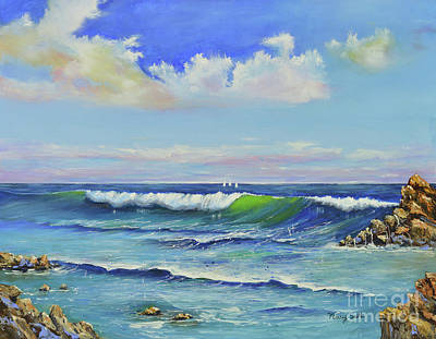 Painting - Breezy Day by Mary Scott