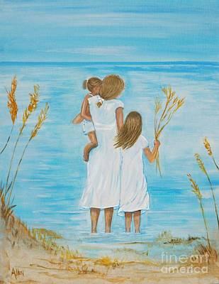 Painting - Breezy Fun by Leslie Allen
