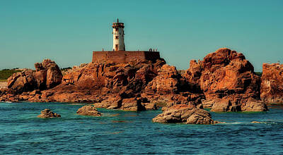 Photograph - Brehat Island Lighthouse by Jacqueline Macou