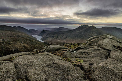 Photograph - Breif Light From Slieve Corragh by Glen Sumner