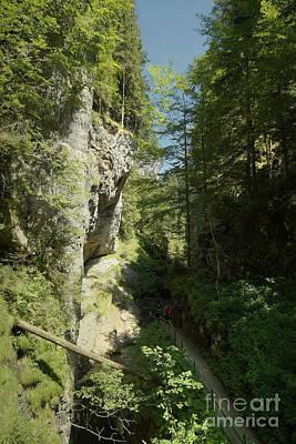 Photograph - Breitach Gorge Oberstdorf 13 by Rudi Prott