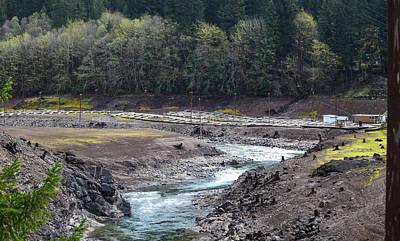 Photograph - Breitenbush River Remodeled by Tom Cochran