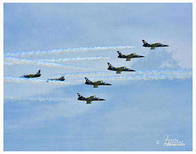 Photograph - Breitling Air Show by Linda Constant
