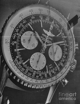 Breitling Chronometer Art Print by David Bearden