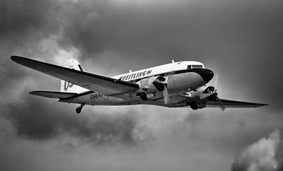 Photograph - Breitling Dc-3 by Ian Merton