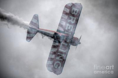 Breitling Stearman Wingwalkers Top Shot Art Print