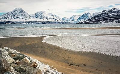 Photograph - Breivik Nature Reserve Troms Norway by Adam Rainoff