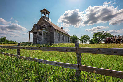 Royalty-Free and Rights-Managed Images - Bremen Schoolhouse by Darren White