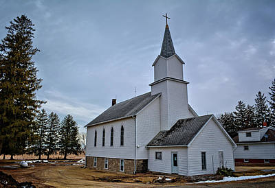 Photograph - Bremer Church by Bonfire Photography