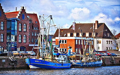 Photograph - Bremerhaven Harbor, Germany by Tatiana Travelways