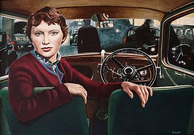 Painting - Brenda King by Jo King