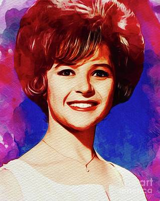 Rock And Roll Royalty-Free and Rights-Managed Images - Brenda Lee, Music Legend by John Springfield