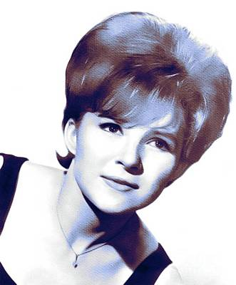 Music Royalty-Free and Rights-Managed Images - Brenda Lee, Music Legend by Esoterica Art Agency