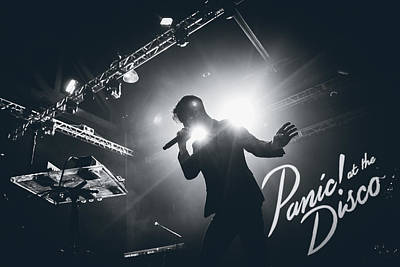 Brendon Urie Of Panic At The Disco Art Print