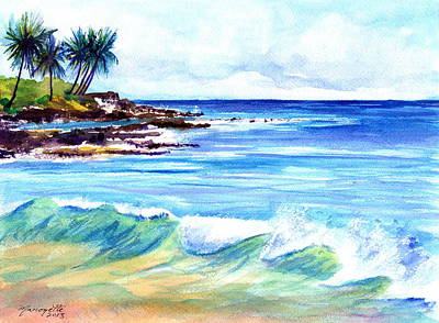 Brennecke's Beach Art Print