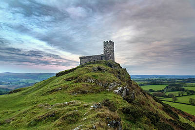 Gel Photograph - Brentor - Dartmoor by Joana Kruse