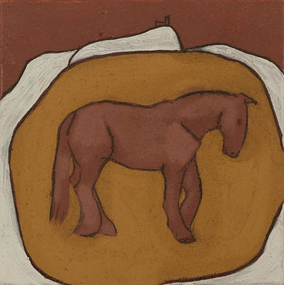 Brentor Painting - Brentor Horse by Sophy White