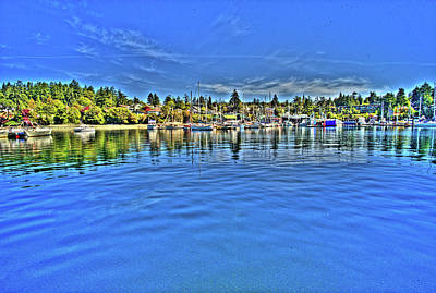 Brentwood Bay Bc Original by Lawrence Christopher