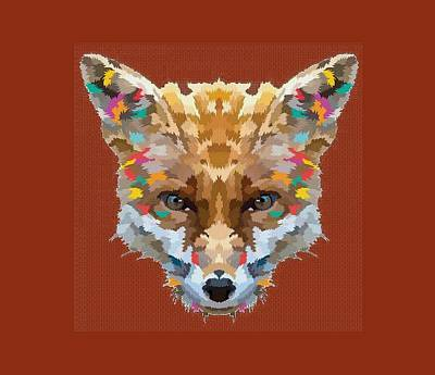 Brerr Fox T-shirt Art Print by Herb Strobino
