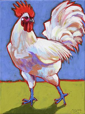 Bresse Rooster Art Print