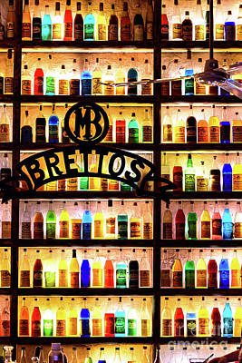 Photograph - Brettos Bar In Athens, Greece - The Oldest Distillery In Athens by Global Light Photography - Nicole Leffer