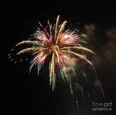 Photograph - Brevard Firework 4 by Kevin McCarthy