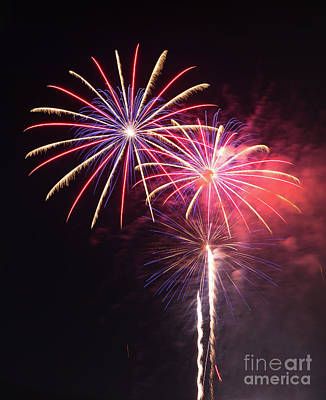 Photograph - Brevard Fireworks 1 by Kevin McCarthy