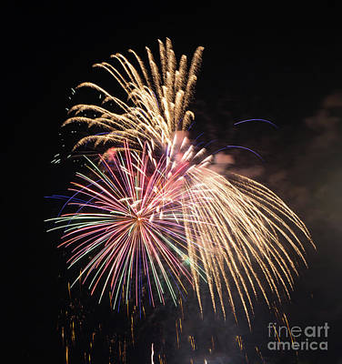 Photograph - Brevard Fireworks 10 by Kevin McCarthy