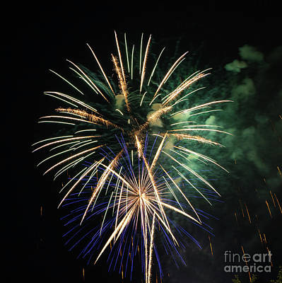 Photograph - Brevard Fireworks 2 by Kevin McCarthy